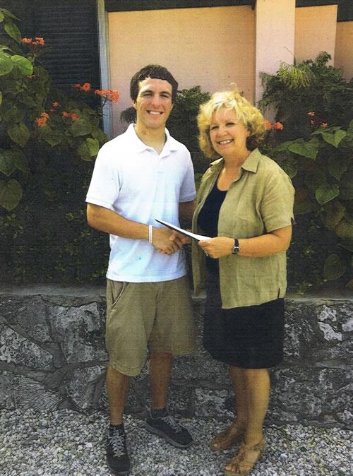 Scholarship 2013-Sean Roussin